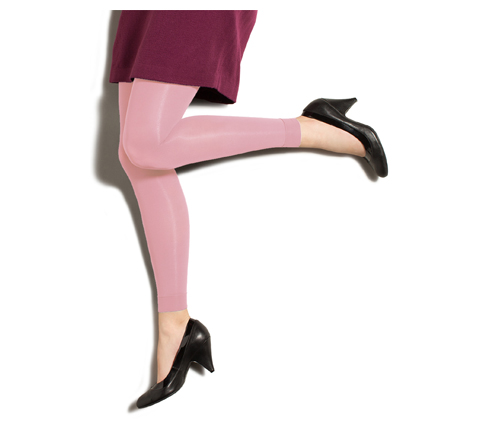 Photograph of 10-15 mmHg Footless Opaque Tights